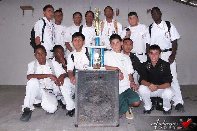 SPHS Male Basketball Team Champs