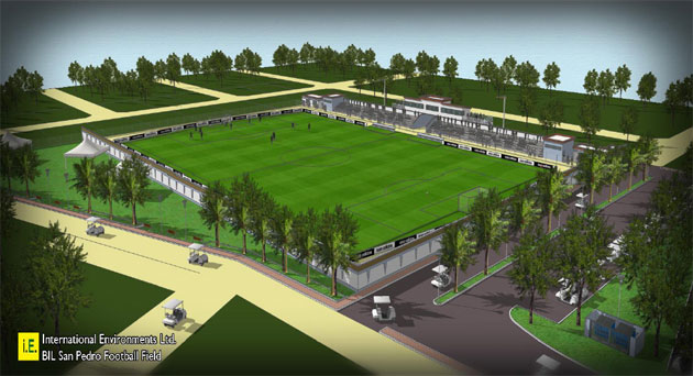 First Look at New $2.6Mil San Pedro Football Field Concept Released
