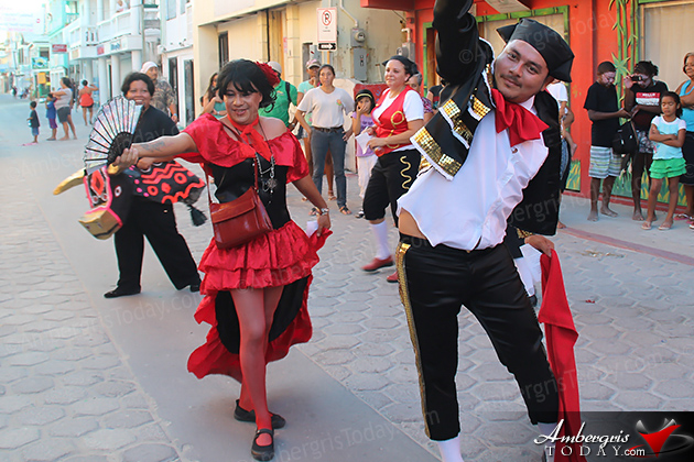 Comparsas (Street Dancers) liven up Carnival with song and dance