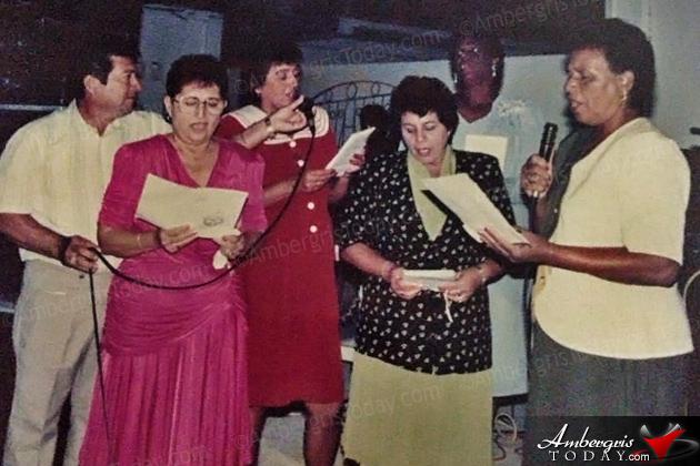 The Dedicated Ladies of the San Pedro Church Choir