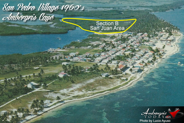 Growing Stages of Ambergris Caye -San Juan Area