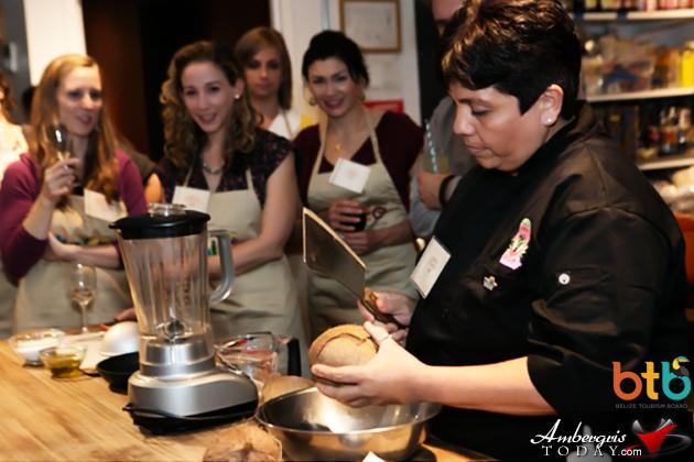 Belizean Cuisine A Hit in New York with Chef Jennie Staines, Elvi's Kitchen