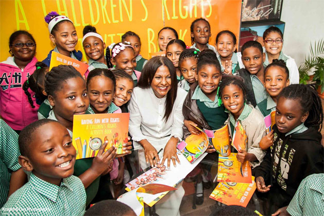 Launch of Having Fun with Rights: A Children's Activity Book in Belize, UNICEF