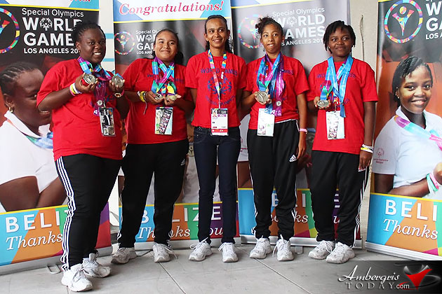Special Olympics Team Belize returns home with Silver Medals