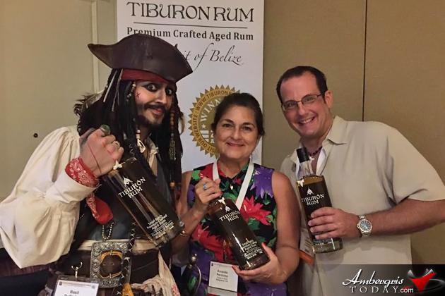 Tiburon Rum and One Barrel Rum of Belize win Gold Awards at WSWA