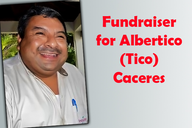 Fundraising Auction for Tico Caceres