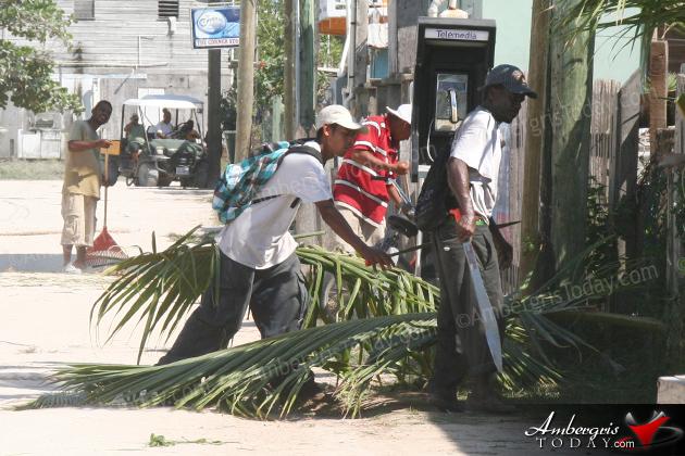 Clean Up Campaign For San Pedrito Area