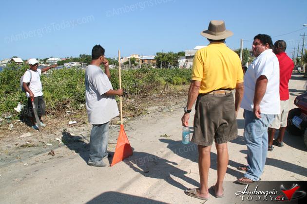 Town Council Starts Ambitious Clean Up Campaign in San Pedrito Area