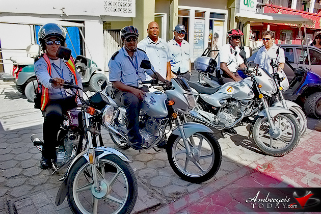 San Pedro Traffic Dept. Upgrades with Four New Motorcycles