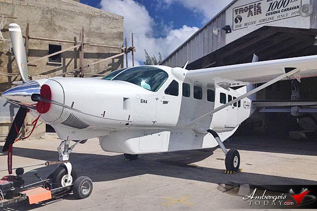 Tropic Air Adds Next Generation Cessna Caravan to its Fleet