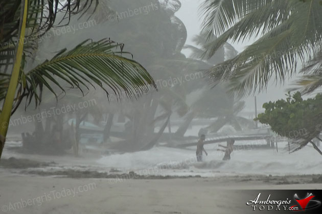 Tropical Depression Drenches Belize