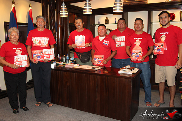 San Pedro UDP Presents Town Council Manifesto 2015-2018