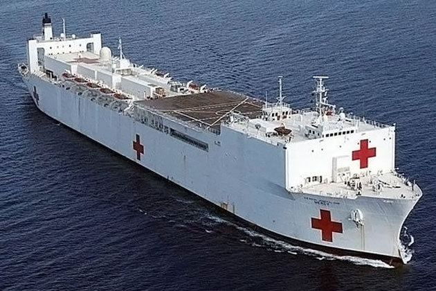 The U.S. Naval Hospital Ship, USNS COMFORT to Visit Belize