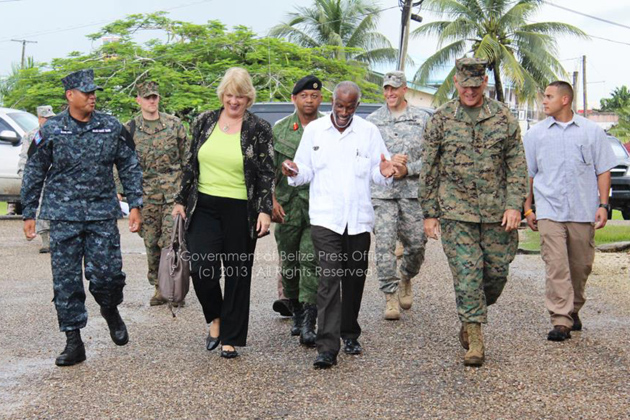 Head of U.S. Southern Command Completes Visit to Belize