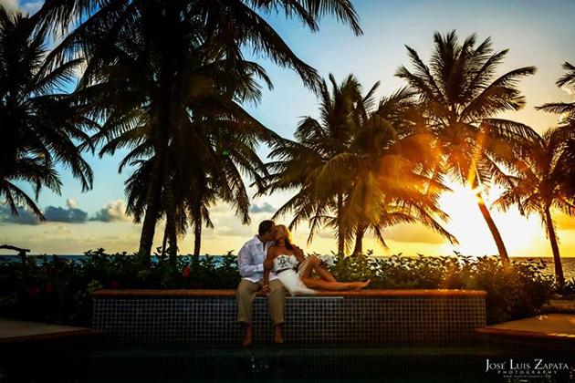 Glorious Sunrise Beach Wedding in San Pedro, Ambergris Caye
