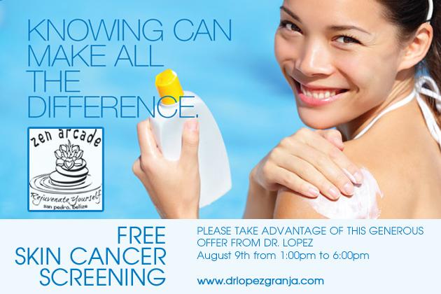 Free Skin Cancer Screenings At Zen Arcade Ambergris