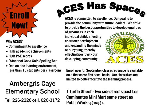 ACES has Spaces