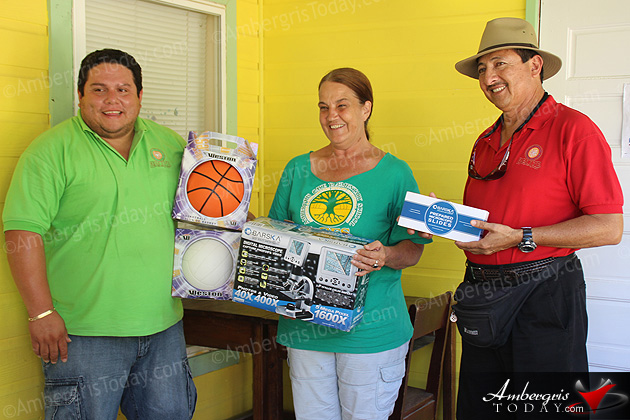 Ambergris Caye Elementary School Receives Donation from SPTC