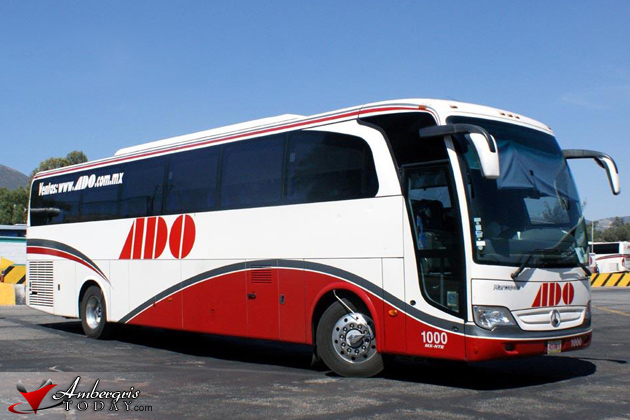 ADO Buses New Timetable in Belize
