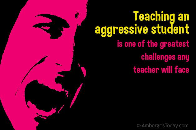 Aggressive Behavior In Students