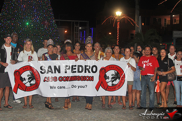 San Pedro AIDS Commission Wraps Up Year with Solidarity Walk