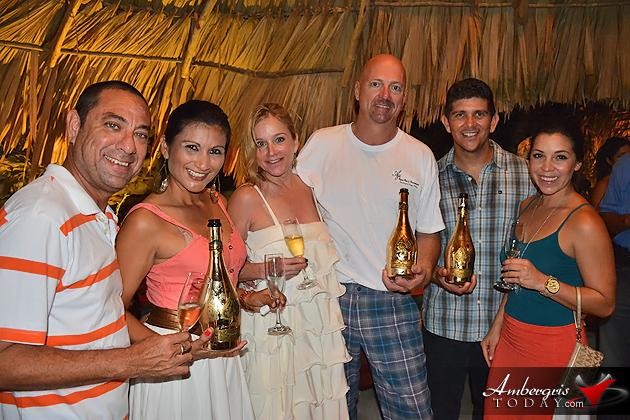 Aji Tapa Bar & Restaurant Celebrates with Armand de Brignac Champagne