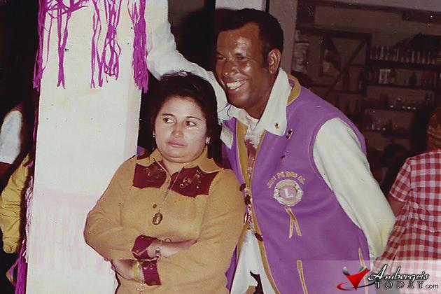 Mr. Allan Forman with wife Arjelia Forman both deceased