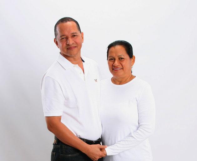 Adolfo and Elida Castillo