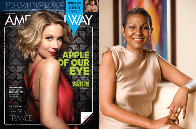 Kim Simplis Barrow featured in American Way Magazine