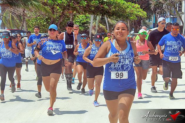 Autism Awareness 5K Run/Walk in San Pedro Ambergris Caye Belize