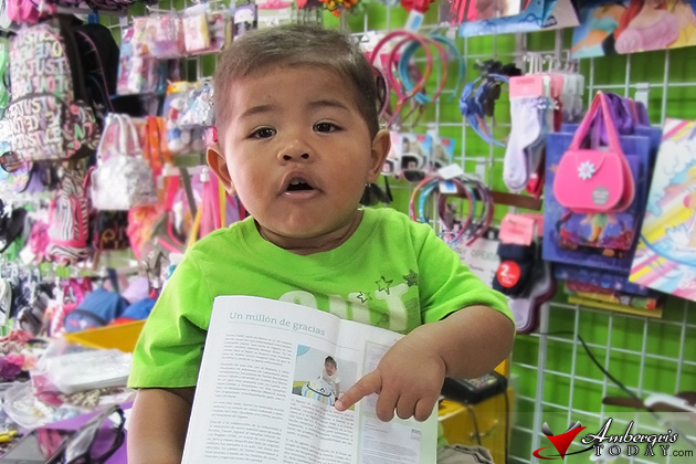 Baby Daniel featured in Colombian Magazine