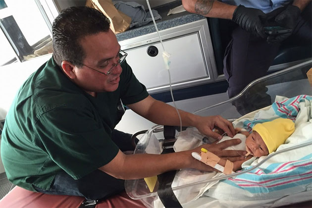 Belize Baby Born with Incomplete Esophagus - Aid from World Pediatric Project
