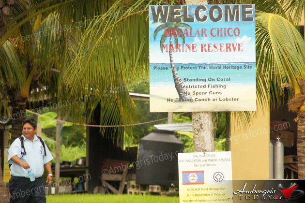 Bacalar Chico National Park & Marine Reserve