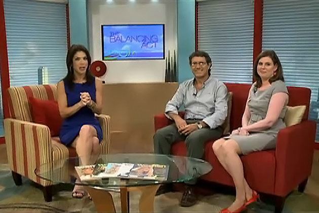 Dr. Jaime Awe and Laura Esquivel-Frampton promote Belize Maya 2012