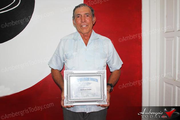 Baldemar Graniel Sr. Receives George Price Award