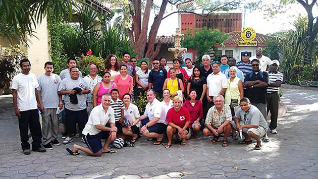Bandage International Assists with First Aid Training in San Pedro