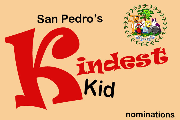 Be Kind Belize Kindest Kid Nominations