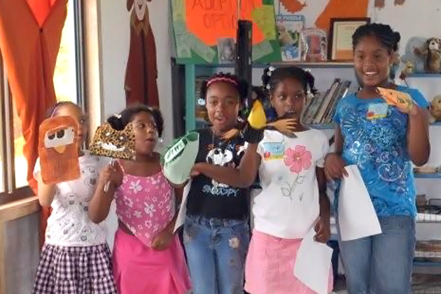 Belmopan Students Learn about Be Kind Belize