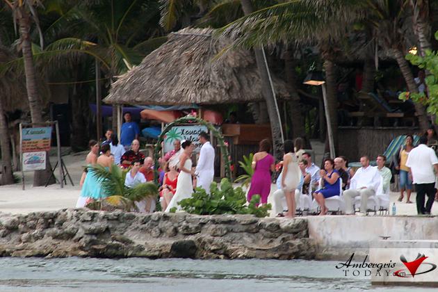 Beach Wedding at Xanadu Resort
