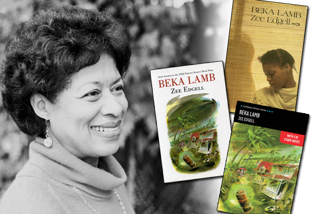 A young Zee Edgell and various editions of Beka Lamp Publications