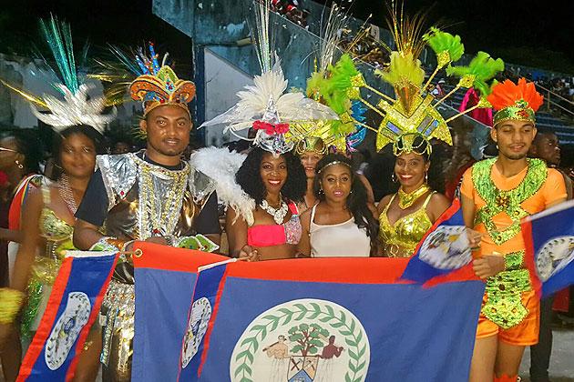 Belize Delegation Participates in Nigeria's Calabar Carnival