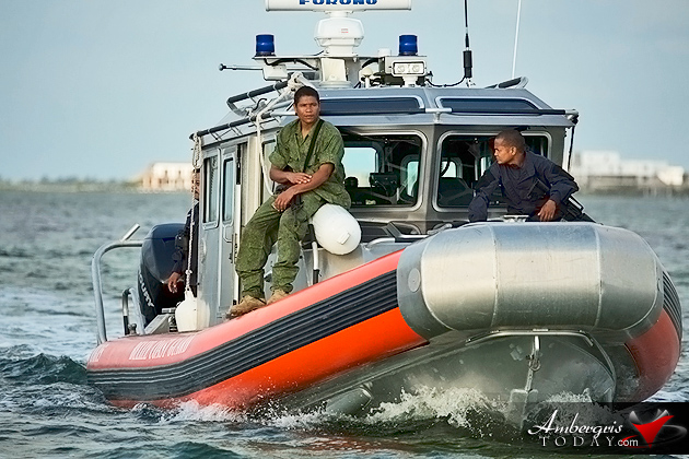 Belize Coastguard Steps up Patrols in Ambergris Caye