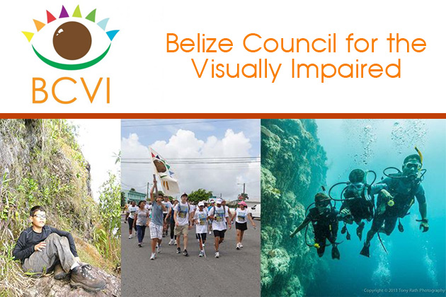 Rowan Garel Keeps Working Hard for the Belize Council for the Visually Impaired