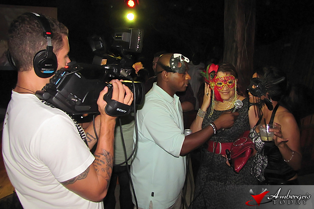 Masquerade Party at Kama Lounge, Belize Intl' Film Festival