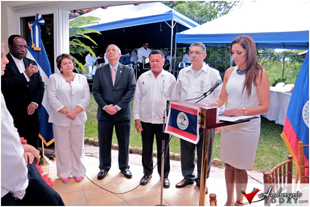 Belize Independence Celebrated in El Salvador