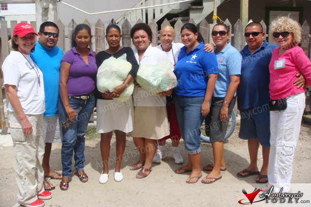 Belize Mission Project Helping out San Pedro