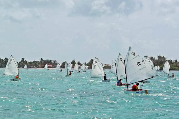 San Pedro Junior Sailing Club Continues Reign in National Regatta