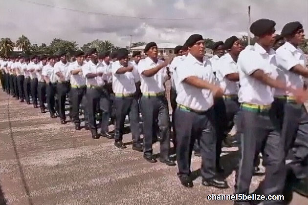 Major Crimes Down as Belize Police Force Doubles Strength in Under 3 Years