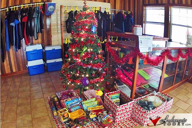 Belize Pro Dive Center Food/Toy Drive