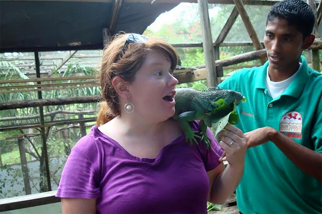 Kristin Fuhrmann-Simmons on her visit to Belize
